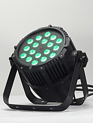 cheap -1 set 150 W 3200 lm 18 LED Beads RGBW Color Gradient Easy Install Dimmable LED Stage Light / Spot Light Color-changing 220-240 V Hallway / Stairwell Stage Commercial