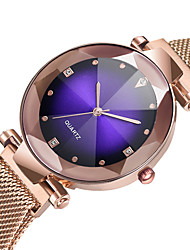 cheap -Women's Quartz Watches Diamond Casual Fashion Rose Gold Alloy Chinese Quartz Red Blushing Pink Purple New Design Casual Watch 1 pc Analog One Year Battery Life / SSUO 377
