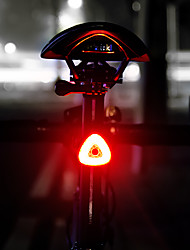 cheap -LED Bike Light Rear Bike Tail Light LED Mountain Bike MTB Bicycle Cycling Smart Induction Automatic Brake Induction Li-polymer 20 lm Rechargeable Battery White Camping / Hiking / Caving Cycling / Bike