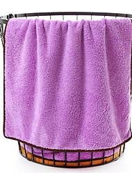 Недорогие -Высшее качество Полотенца для мытья, Однотонный Чистый хлопок 1 pcs
