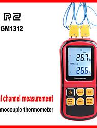Недорогие -Цифровой термометр с термопарой rz1312 для термопар типа j, k, t, e, n, s и r