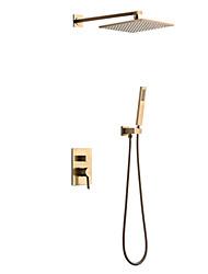 Недорогие -Смеситель для душа - Современный Другое Керамический клапан Bath Shower Mixer Taps