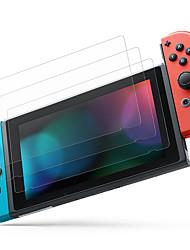 abordables -cooho 3pcs protection d'écran en verre compatible avec nintendo switch - protection d'écran en verre trempé de qualité supérieure - 0.24mm pour console nintendo switch