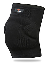 cheap -Knee Brace for Exercise & Fitness / Basketball / Multisport All Protection / Stretchy / Thermal / Warm Sports & Outdoor EVA 1 Black