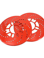 cheap -2pcs Car Universal 25cm Thicken Aluminum Disc Brake Rotor Racing Covers Drum Decorative