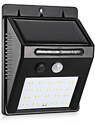 cheap -1pc 0.5 W Solar Wall Light Solar / New Design / Motion Detection Monitor Cold White 3.7 V Outdoor Lighting / Courtyard / Garden 20 LED Beads