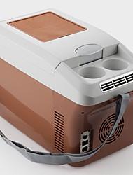 Недорогие -11-15л автомобильный холодильник с низким уровнем шума / без запаха / низкое энергопотребление, нижний предел может достигать 2-4 ℃ 12/24/220 В