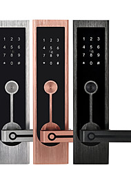 cheap -Aluminium alloy lock / Intelligent Lock / Card Lock Smart Home Security System RFID / Password unlocking / Mechanical key unlocking Household / Home / Home / Office Others / Wooden Door (Unlocking