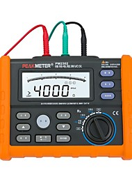 cheap -PEAKMETER PM2302 Digital Ground Earth Resistance Voltage Tester Meter 0 ohm to 4K ohm 100 Groups Data Logging with Backlight