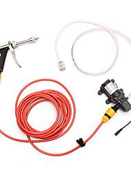 cheap -12V 65W High Pressure Car Washer Wash Water Pump Cleaner Sprayer Kit for Car Marine Deck