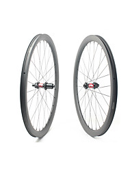 cheap -FARSPORTS 700CC Wheelsets Cycling 30 mm Road Bike Carbon Fiber Clincher / Tubeless Compatible 28/28 Spokes 40 mm