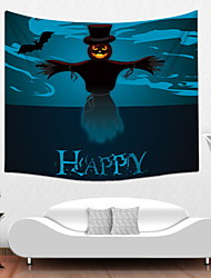 cheap -3D Halloween Fairytale Theme Wall Decor Polyester Contemporary Wall Art, Wall Tapestries Decoration
