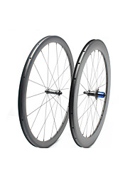 cheap -FARSPORTS 700CC Wheelsets Cycling 25 mm Road Bike Carbon Fiber Clincher / Tubeless Compatible 20/24 Spokes 38 mm / 60 mm