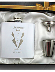 cheap -Personalized Stainless Steel / Iron Barware & Flasks Groom / Groomsman Wedding Party / Holiday