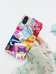 cheap -Case For Hot model  Apple iPhone XR / iPhone XS Max Pattern Back Cover Word  Phrase Hard  Plastic for iPhone 6  6 Plus  6s 6s plus 7 8 7 plus 8 plus X XS  XR XS MAX