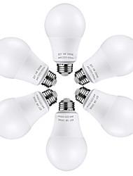 cheap -6pcs 5 W LED Globe Bulbs 450 lm E26 / E27 25 LED Beads SMD 2835 Lovely Warm White Cold White 100-240 V