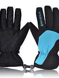 cheap -Ski Gloves Men's Snowsports Full Finger Gloves Winter PU(Polyurethane) Snowsports Winter Sports