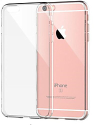 cheap -Case For Apple iPhone 8 Plus / iPhone 8 / iPhone 7 Plus Shockproof / Transparent Back Cover Solid Colored Soft TPU