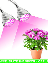 cheap -Grow Light LED Plant Growing Light 28 W 550-614 lm 56 LED Beads Full Spectrum Growing Light Fixture Red 85-265 V Vegetable Greenhouse