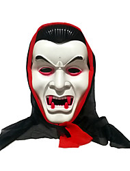 cheap -Cosplay Costume Mask Halloween Mask Inspired by Bat Scary Movie White Cosplay Halloween Halloween Carnival Masquerade Adults' Men's Women's