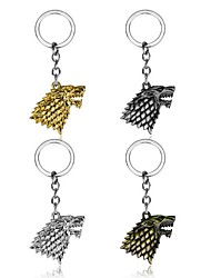 cheap -Game of Thrones Bag / Phone / Keychain Charm House Stark of Winterfell Totem Creative Metal Universal