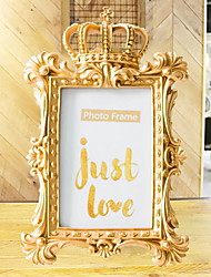 cheap -Modern Contemporary Plastic & Metal Painted Finishes Picture Frames Wall Decorations, 1pc Picture Frames