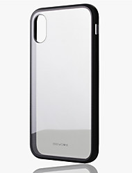 cheap -Case For Apple iPhone XS / iPhone X Shockproof Back Cover Transparent Hard TPU / Acrylic / Silicone