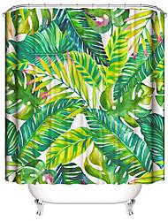 abordables -Rideaux de douche et anneaux Moderne Plastique / Polyester Imperméable / Design nouveau
