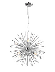 cheap -55cm Nordic Style Globe Metal Chandeliers Firework 8-Light Modern Living Room Dining Room Pendant Lights E12/E14 Bulb Base