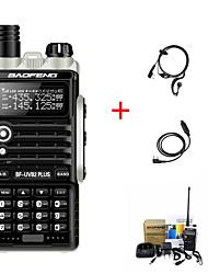 Недорогие -BAOFENG BF-UVB2PLUS Аналоговая Аварийная тревога / С программным управлением через ПК / Функция сохранения энергии 5 - 10 км 5 - 10 км 4800 mAh 8 W Walkie Talkie Двухстороннее радио