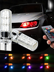 cheap -Car LED Tail Lights / Brake Lights / Reversing (backup) Lights T10 / W5W Light Bulbs SMD 5050 1.32 W 6 For universal All years 2pcs