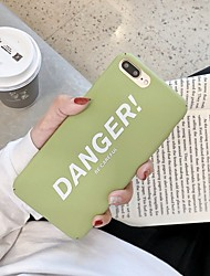 cheap -Case For Hot model Apple iPhone XR / iPhone XS Max Pattern Back Cover Word / Phrase Soft TPU for iPhone 6  6 Plus  6s  6s plus 7 8 7 plus 8 plus X XS XR XS MAX