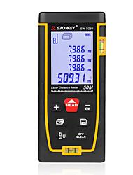 Недорогие -SNDWAY SW-TG50 50 Инфракрасный измеритель расстояния Держать в руке / Карманный дизайн / Высокое качество для интеллектуального измерения дома / для инженерных измерений / для строительства