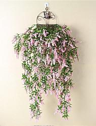 Недорогие -Искусственные Цветы 1 Филиал Классический Современный современный европейский Светло-голубой Вечные цветы Цветы на стену