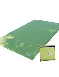 cheap -Sleeping Pad Tent Tarps Beach Blanket Outdoor Camping Ultra Light (UL) Thick Nylon 250*150 cm Camping / Hiking Camping for All Seasons Sky Blue Green Blue