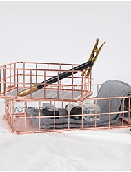 Недорогие -Металл Как на фотографии 2 комплекта Коробка для хранения / Коробки для хранения / Полки и держатели