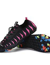 abordables -Femme Baskets Chaussures de Randonnée Poids Léger Respirable Antidérapant Multifonction Randonnée Marche Automne Eté Rose