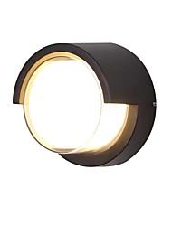 cheap -QIHengZhaoMing LED / Modern Contemporary Outdoor Wall Lights Shops / Cafes / Office Metal Wall Light 110-120V / 220-240V 12 W