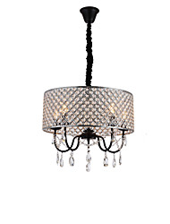 cheap -QINGMING® 5-Light 50 cm Crystal / Mini Style Chandelier Metal Mini Electroplated / Painted Finishes Artistic / Country 110-120V / 220-240V