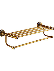 cheap -Towel Bar Multilayer Antique Brass 1pc - Bathroom Double Wall Mounted