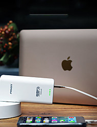 cheap -PISEN 10000 mAh For Power Bank External Battery 5 V For 1 A / 2 A For Battery Charger with Adapter LED