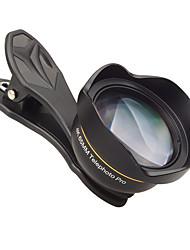 cheap -Mobile Phone Lens Long Focal Lens Glasses / Aluminium Alloy 3X 48 mm 0.065 m 48 ° New Design