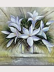 abordables -mintura® Grande taille peint à la main fleurs peinture à l'huile sur toile moderne abstrait art mural photo pour la décoration de la maison non encadrée