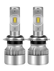 Недорогие -2pcs GU4(MR11) / H7 / H3 Автомобиль Лампы 38 W 4600 lm Светодиодная лампа Налобный фонарь Назначение Универсальный / Volkswagen / Toyota Дженерал Моторс Все года