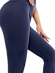 cheap -Women's High Rise Yoga Pants Fashion Running Fitness Tights Activewear Quick Dry Tummy Control Stretchy Slim