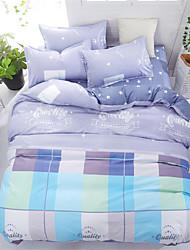 Недорогие -пододеяльники с цветочным принтом 4 шт наборы постельных принадлежностей