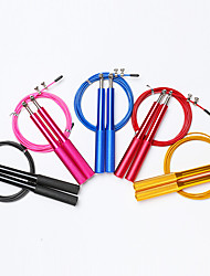 cheap -Jump Rope / Skipping Rope Sports Aluminium alloy Fitness Gym Workout Martial Arts Adjustable Size Durable Lightweight For Women's Men's