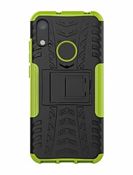 cheap -Case For Huawei Huawei Honor 8A Shockproof / with Stand Back Cover Armor Hard Plastic
