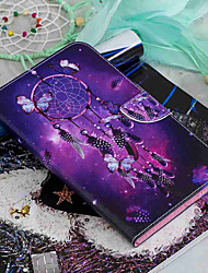 cheap -Case For Amazon Kindle Fire 7(5th Generation, 2015 Release) / Kindle Fire 7(7th Generation, 2017 Release) Wallet / Card Holder / with Stand Full Body Cases Dream Catcher Hard PU Leather