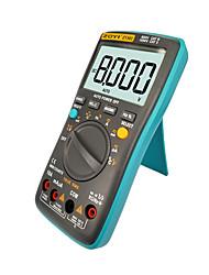 abordables -Le multimètre numérique zt301 8000 compte les valeurs vraies à contre-jour du courant alternatif de tension en courant continu ohm auto / manuel